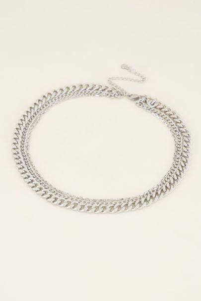 Driedubbele schakelketting | My Jewellery