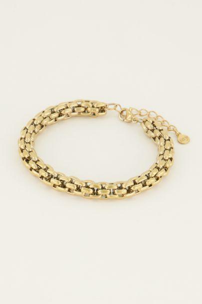Armband chunky schakels | Shop hier | My Jewellery