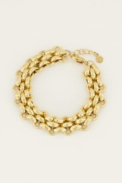 Armband schakels groot | Schakelarmband | My Jewellery