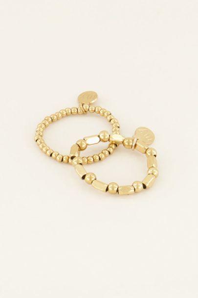 Ringen set elastiek | Koop hier | My Jewellery