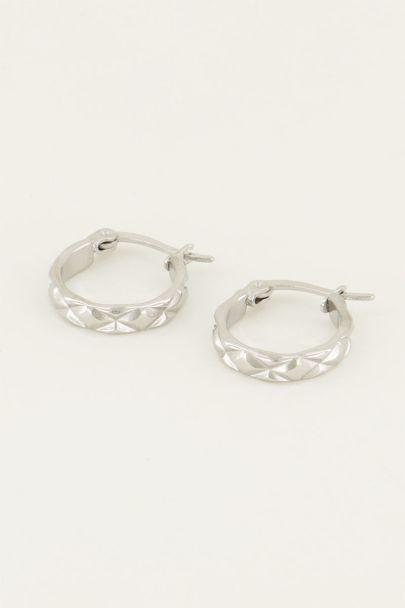 Ohrringe mit kleinem Muster| My Jewellery