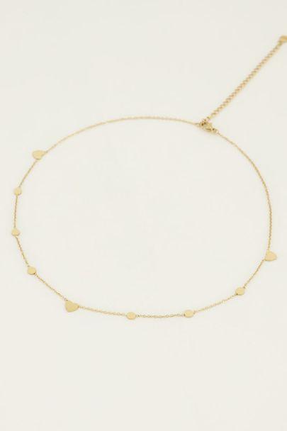 Ketting rondje en hartje | My Jewellery