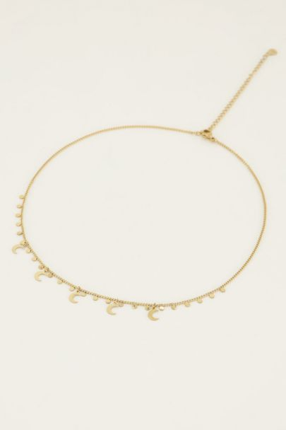 Necklace with moon charms | My Jewellery