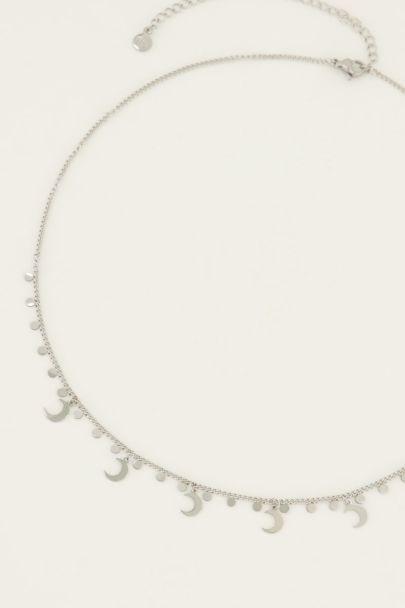 Halskette mit Monden und Anhängern
