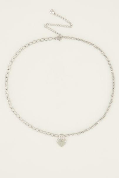 Halskette mit Herzschloss | My Jewellery