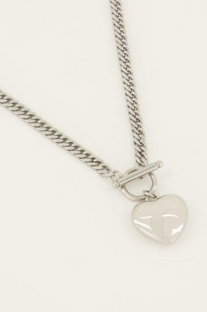 Schakelketting hart | My Jewellery