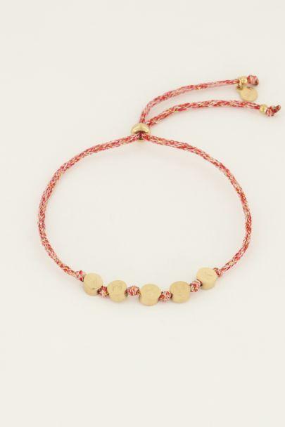 Touw armband amour | My Jewellery