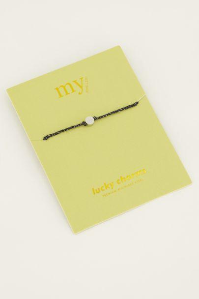 Touw armband hartje | My Jewellery