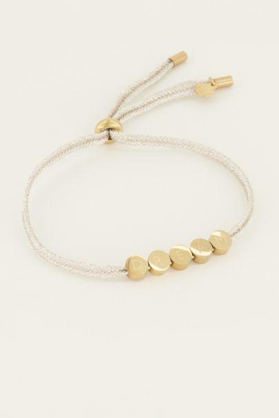 Touw armband dream | My Jewellery