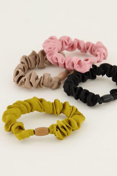 Haarelastiekjes gekleurd | My Jewellery
