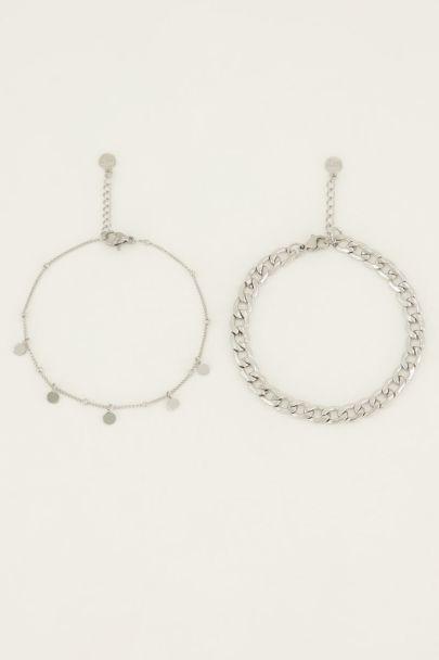 Armbandjes set muntjes | My Jewellery