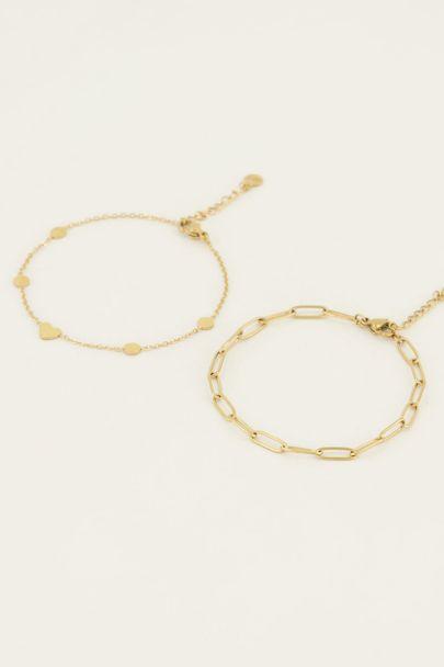 Armbandjes set schakel | My Jewellery
