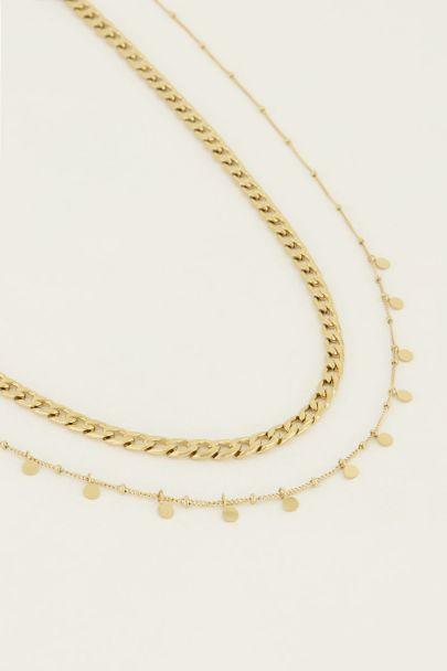 Kettingen set muntjes | My Jewellery