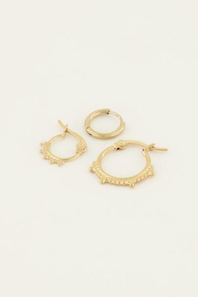 Oorbellen set ringen | My Jewellery