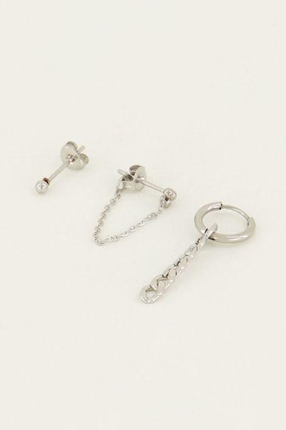 Oorbellen set knopje | My Jewellery