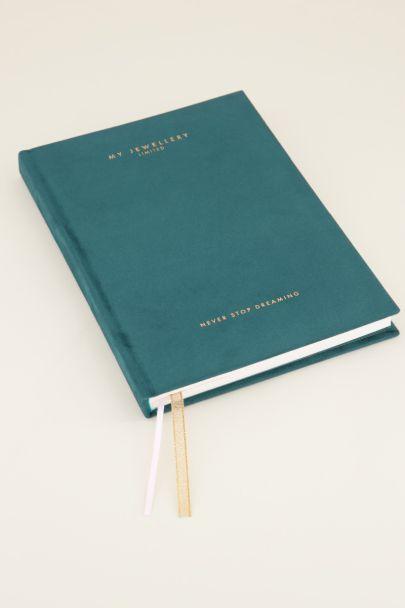 Petrol My Jewellery notebook | Schriften | My Jewellery