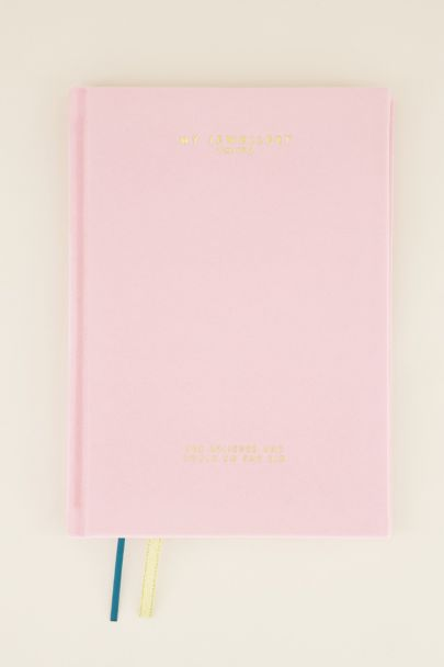Roze My Jewellery notebook | Schriften | My Jewellery