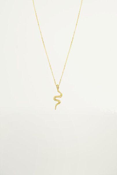 Halskette Anhänger Schlange, Halsketten