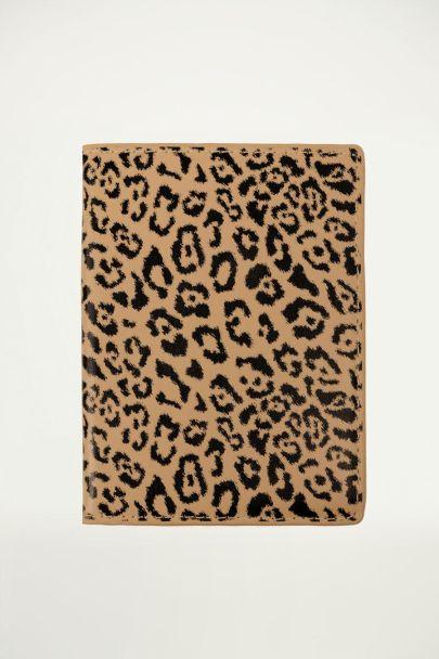 Reisepasshülle mit Leoparden-Print, Leoparden-Print