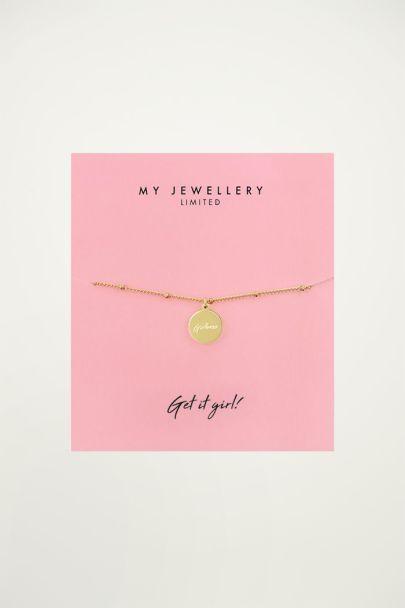 Girl boss bracelet