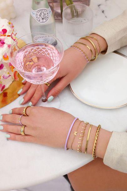 Bracelet double yellow