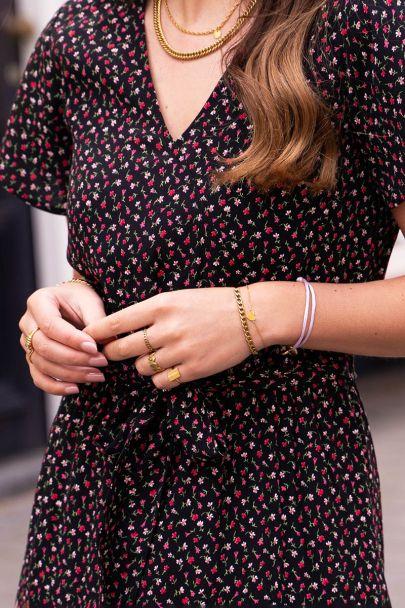 Armband klein hartje
