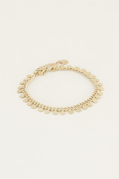 My Jewellery Armbandje muntjes goud zilver My jewellery