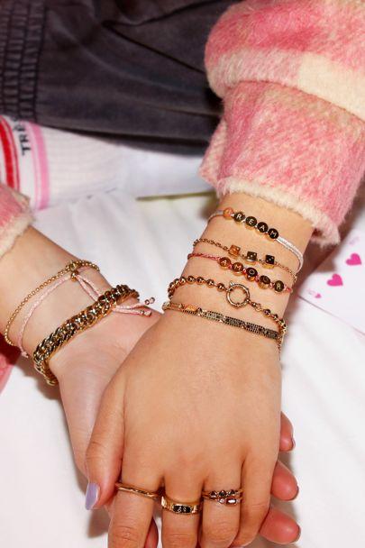 Touw armband amour