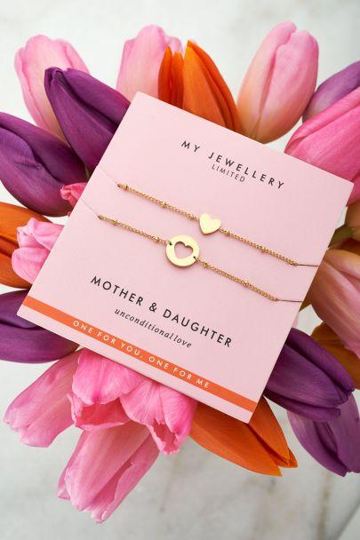 Moeder & dochter armband