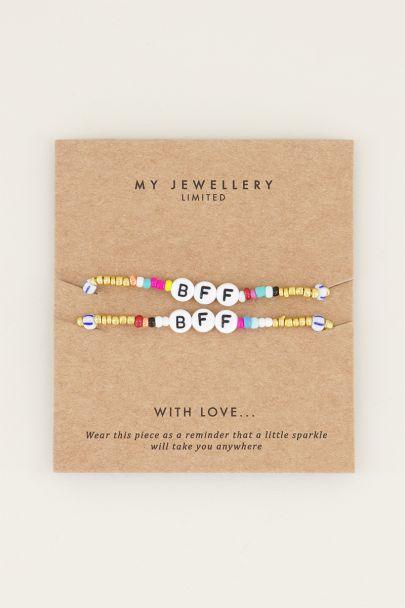 Armbandenset BFF | Kralen armbanden My Jewellery
