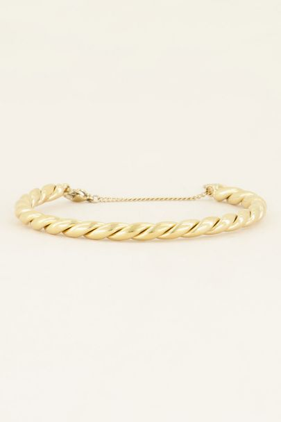 Shop a chunkytwisted bangle | My Jewellery