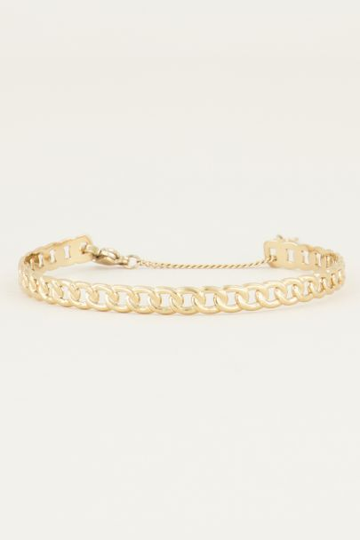 Bangle flat chains | Chain bracelet at My Jewellery