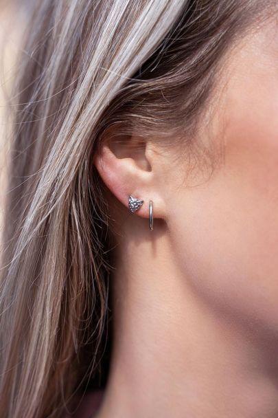 Basic earrings - 1.2 cm