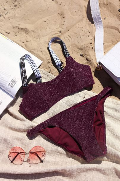 Bikini broekje lurex