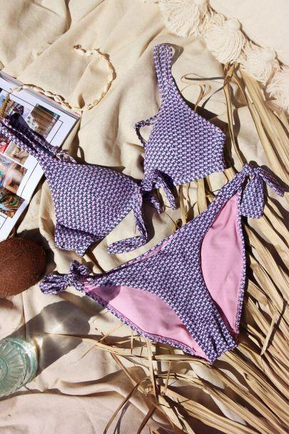 Bikini broekje MY print