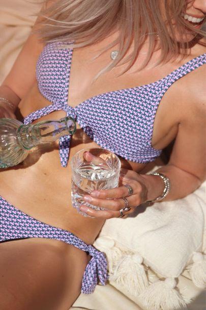 Bikini top MY print