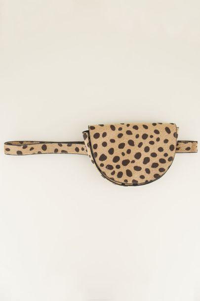 Heuptas halve cirkel cheetah