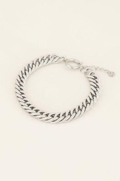 Chain armband ronde sluiting | My Jewellery