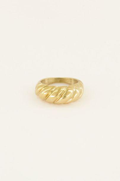 Ring gedraaid | Dames ringen | My Jewellery