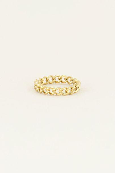 Ring kleine schakels | Ring schakels | My Jewellery
