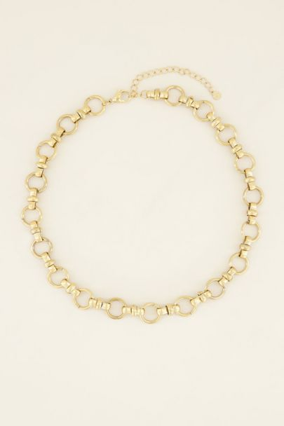 Necklace with round chain links | My Jewellery