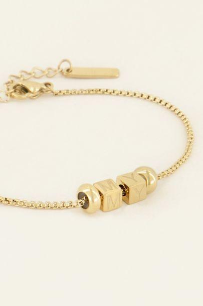 Cube basic bracelet | My Jewellery
