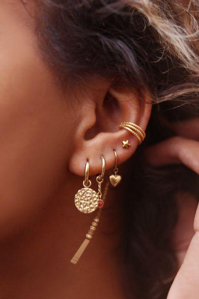 Ear cuff drie ringetjes
