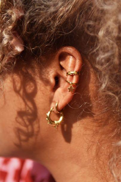 Ear cuff smal structuur