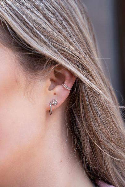 Ear cuff twee ringetjes