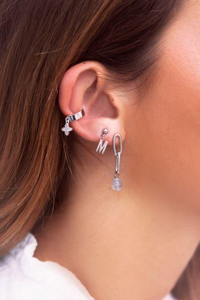 Ear cuff hanging star