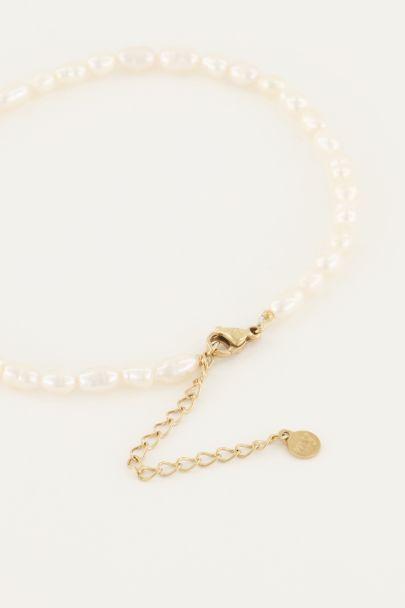 Fußkettchen mit Perlen