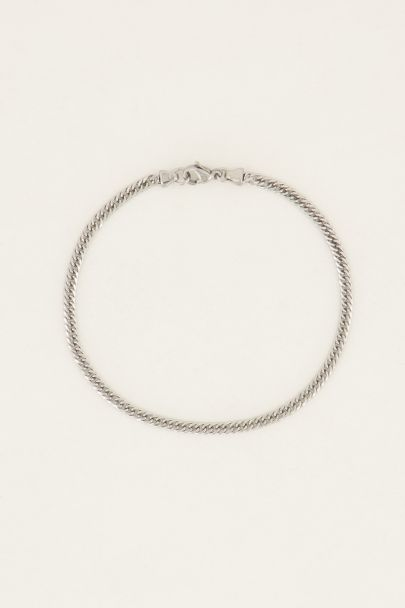 Equal armband platte schakel | My Jewellery