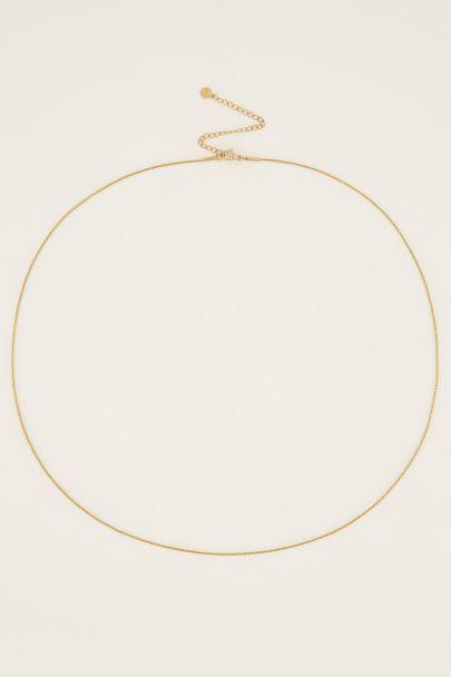 Equal ketting kleine schakels | Unisex ketting | My Jewellery
