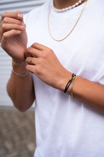 Equal armband schuine schakel